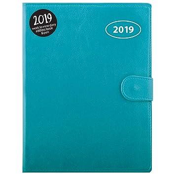 Agenda 2019 A5 semana vista organizador personal libreta de ...