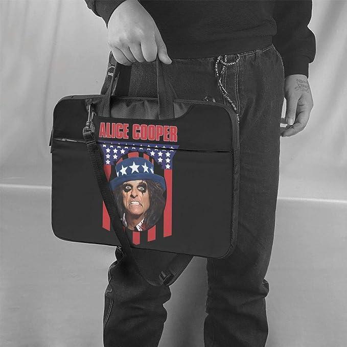 Ktdbthut Alice Cooper Shoulder Messenger Leisure Case Briefcase Sleeve for 13 Inch 14 Inch 15.6 Inch Laptop Laptop Case