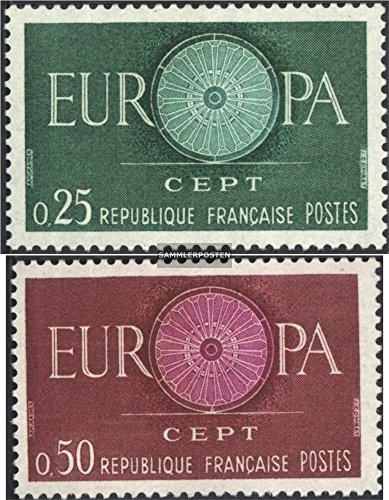 France 1318-1319 (Complete.Issue.) 1960 Europe CEPT 60 (Stamps for Collectors)