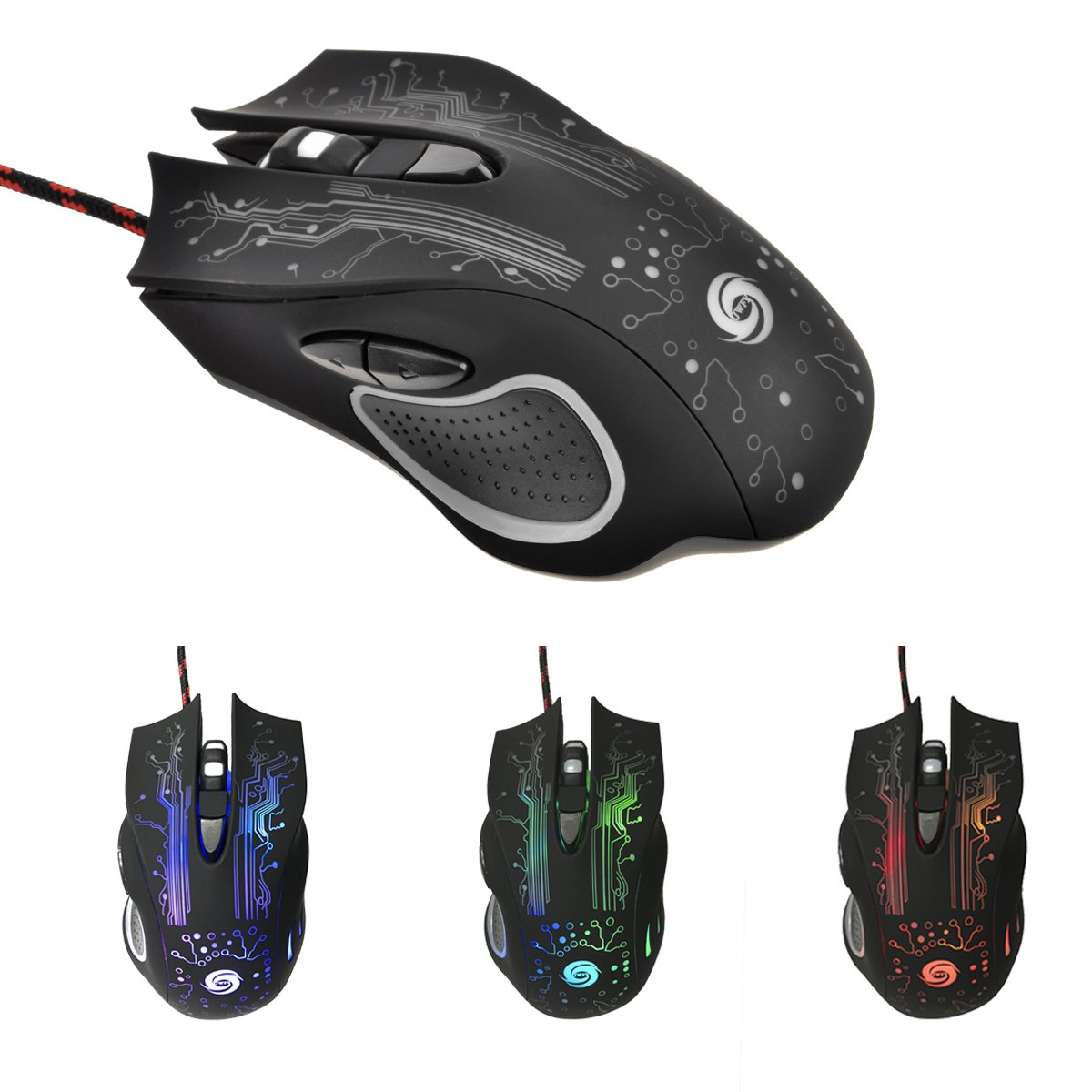 A885 Professional USB Powered Wired Gaming Mouse