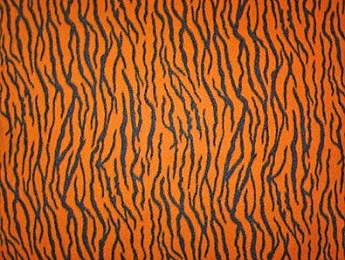 Orange/Black Tiger Skin Fleece Fabric Print by the Yard atigerg (Tigers Fleece Fabric)