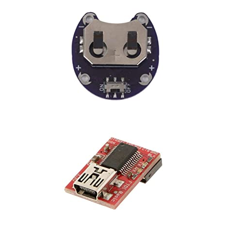 LilyPad Coin Cell Battery Holder CR2032 FT232 USB to TTL Serial Adapter PACK