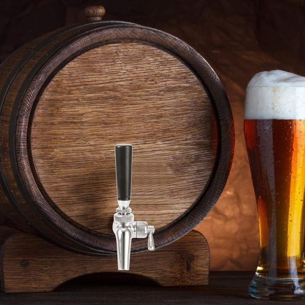 Grifo de cerveza, dispensador de grifo de grifo de cerveza ajustable para el hogar Accesorio de equipo de preparación para el hogar para barril de cerveza