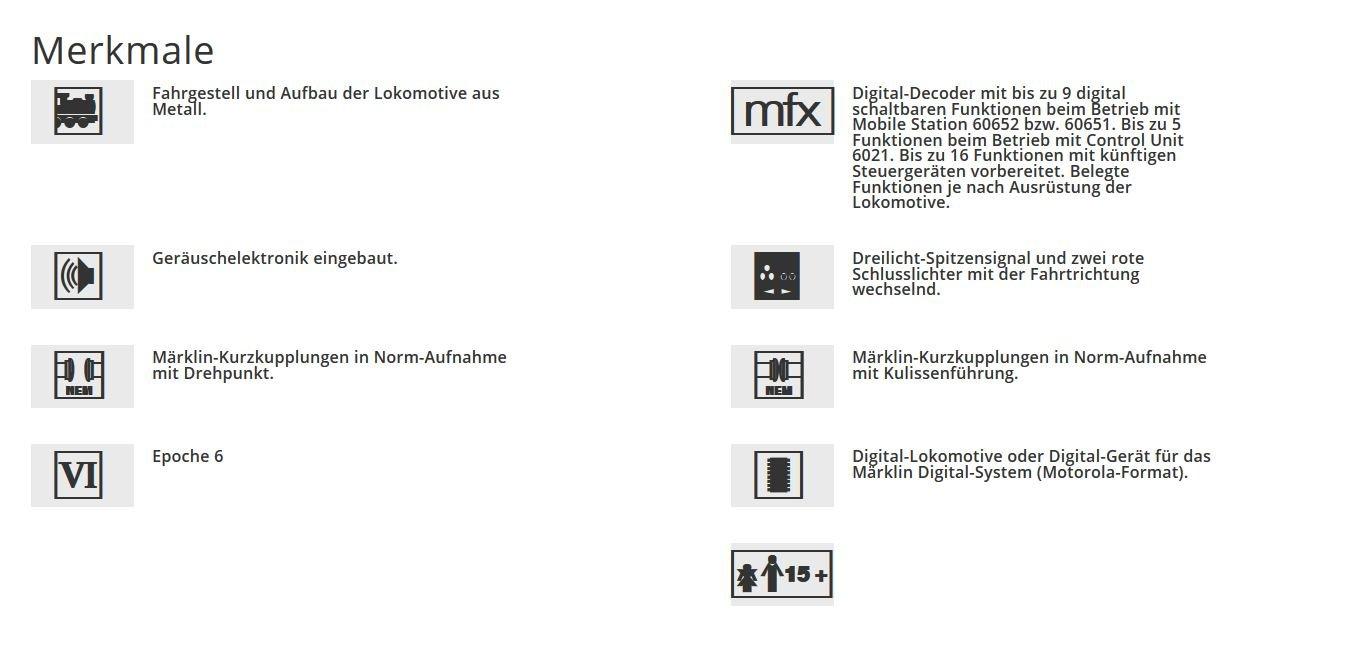 Fahrzeuge M/ärklin 29479 Digital-Startset Regional Express
