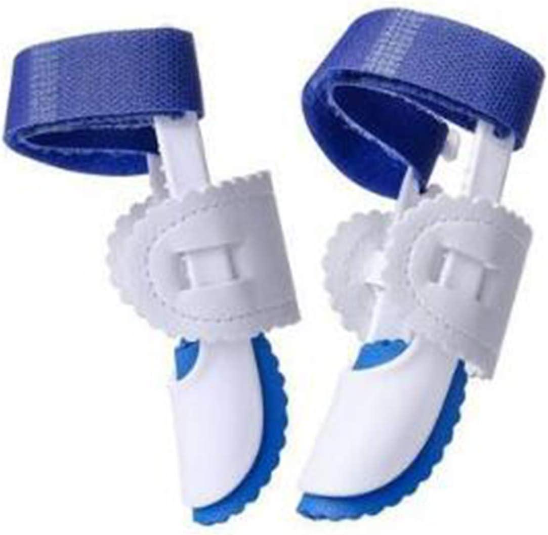 Plantilla Ortopédica Valgus, Soporte Ortopédico De Punta Ajustable Con Velcro Talla Única 8 * Azul