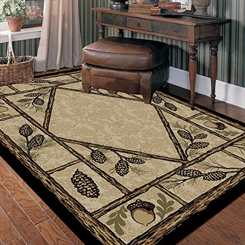 8'x10′ Brasstown Bald Multi Rustic Area Rug – 7'10 W X 9'10 L Review
