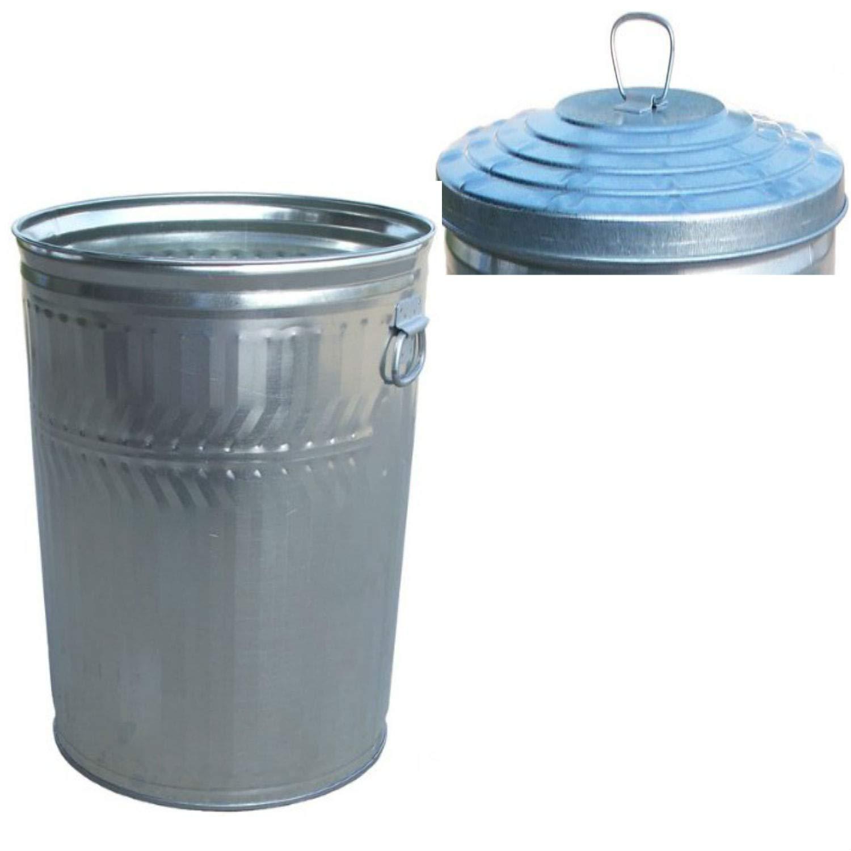 Witt Industries Heavy Duty 32 Gallon can with Heavy Duty 32 Gallon lid- pregalvanized Steel