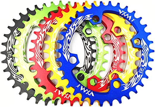 New BCD 96mm MTB bike durable round oval chainring chain ring 32//34//36//38T