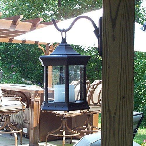 Starlite Garden and Patio Solar Lantern Sconce - Clear Glass by Starlite Garden and Patio