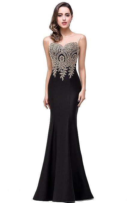 Amazon.com: Babyonlinedress Mermaid Evening Dress for Women Formal Long Prom Dress: Clothing