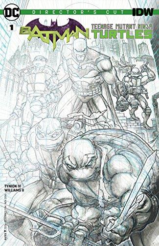 Batman/Teenage Mutant Ninja Turtles Directors Cut (2016) #1 (Batman/Teenage Mutant Ninja Turtles (2015-2016))