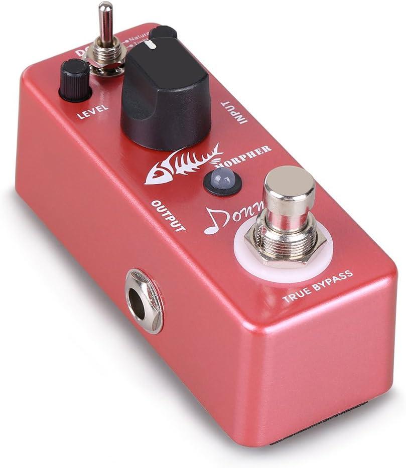 Donner – Pedal de Efectos para Guitarra Morpher Distorsión 3 modos de Trabajo