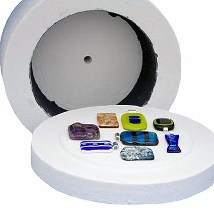 Profesional Extra Grande de Cristal horno microondas fusión herramientas DIY para las mujeres joyería 19,
