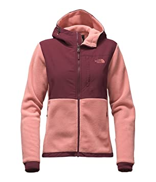The North Face womens DENALI 2 HOODIE NF0A2TE3MNW_XS - ROSE DAWN/DEEP  GARNET RED (