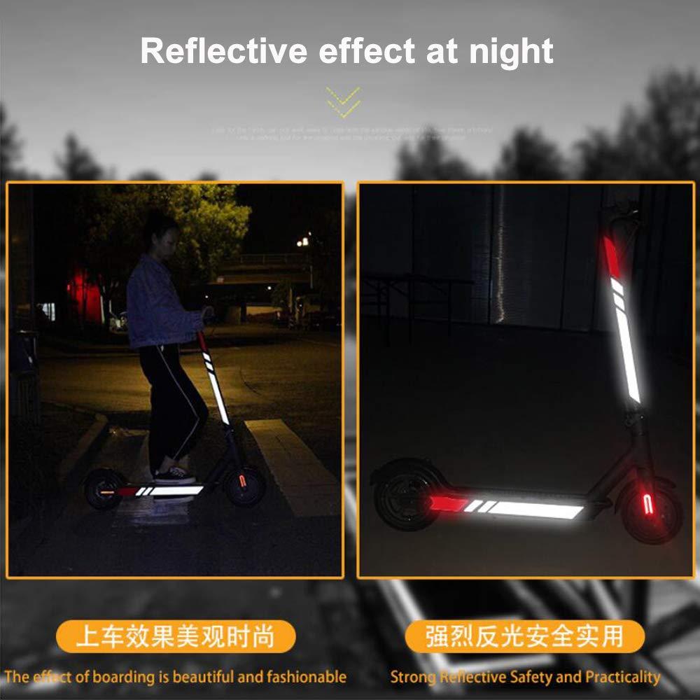 Amazon.com: Chuancheng - Juego de adhesivos reflectantes ...
