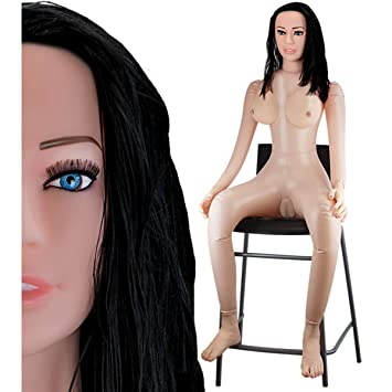 Muñeca Hinchable Bruna sentada Vagina Ano seni- muñeca hinchable ...