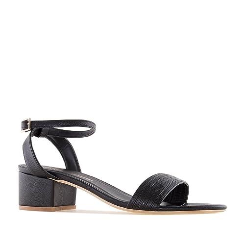 Refresh Shoes - Zapatos de vestir de Material Sintético para mujer Negro negro, color Negro, talla 38