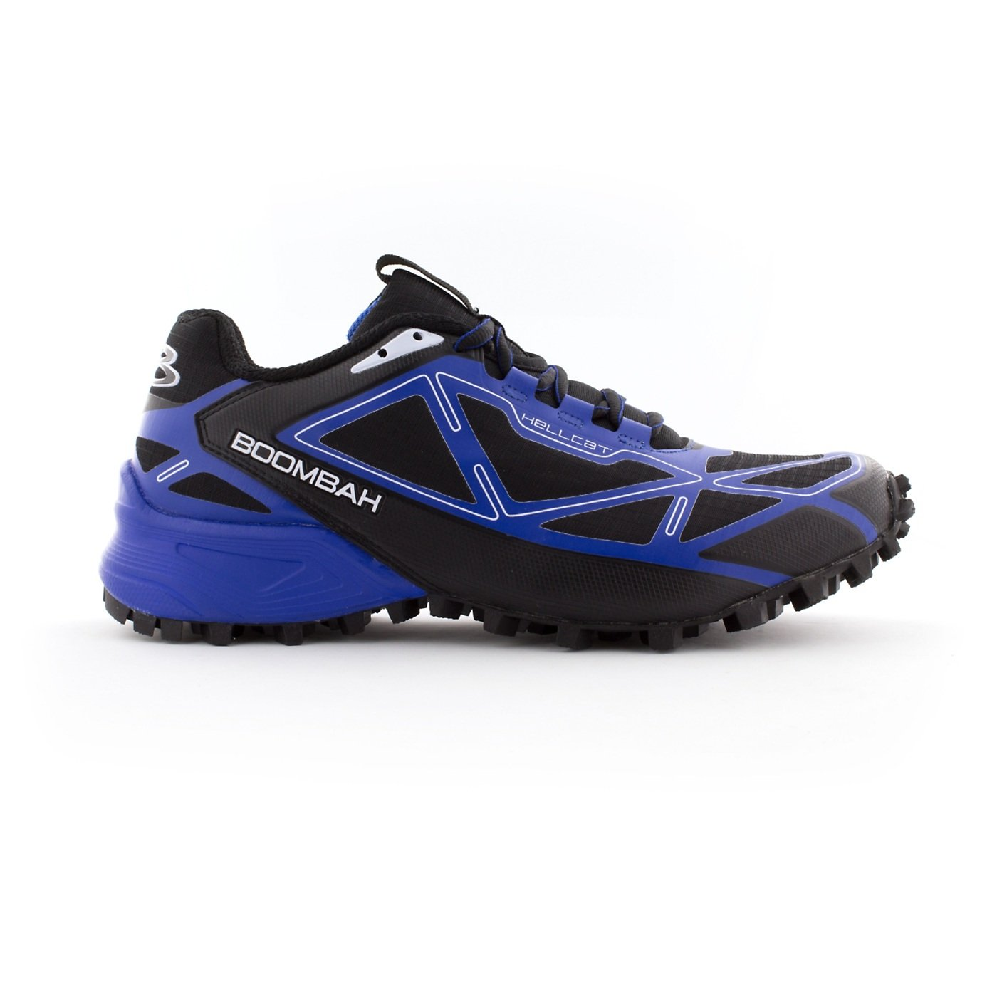 Boombah Men's Hellcat Trail Shoe - 14 Color Options - Multiple Sizes B073X6TNH2 14|Black/Royal