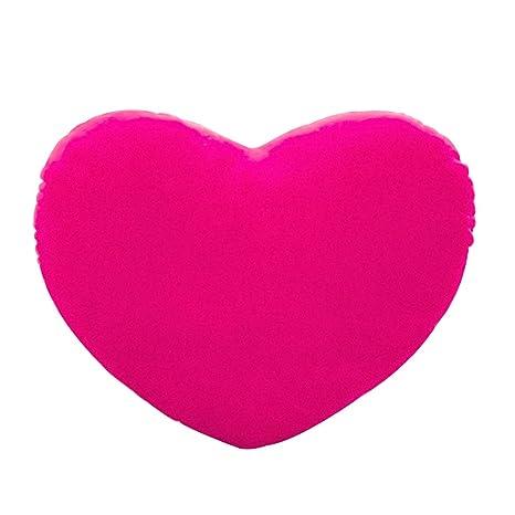 Exing Peluche Juguete, 30 cm corazón Forma Decorativa Decoración Cojín PP algodón Suave creativos Amantes de la muñeca Regalo