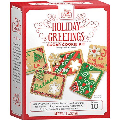 Crafty Cooking Kits Holiday Greetings Kit, Sugar Cookie, 11 Ounce