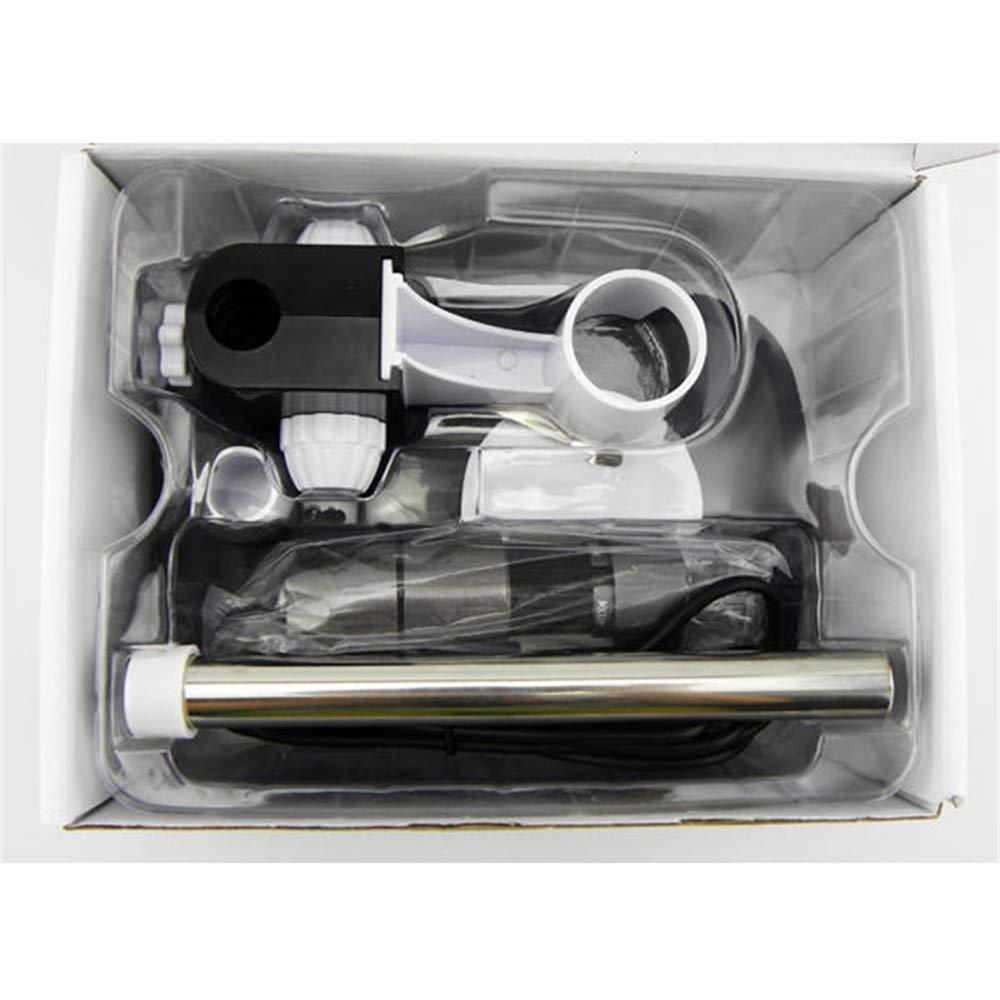 GQYLQ Microscope Digital Video Camera 2MP 8LED USB 40X-1000X Microscope Endoscope Mini Pocket Handheld Microscope Color : Black, Size : One Size