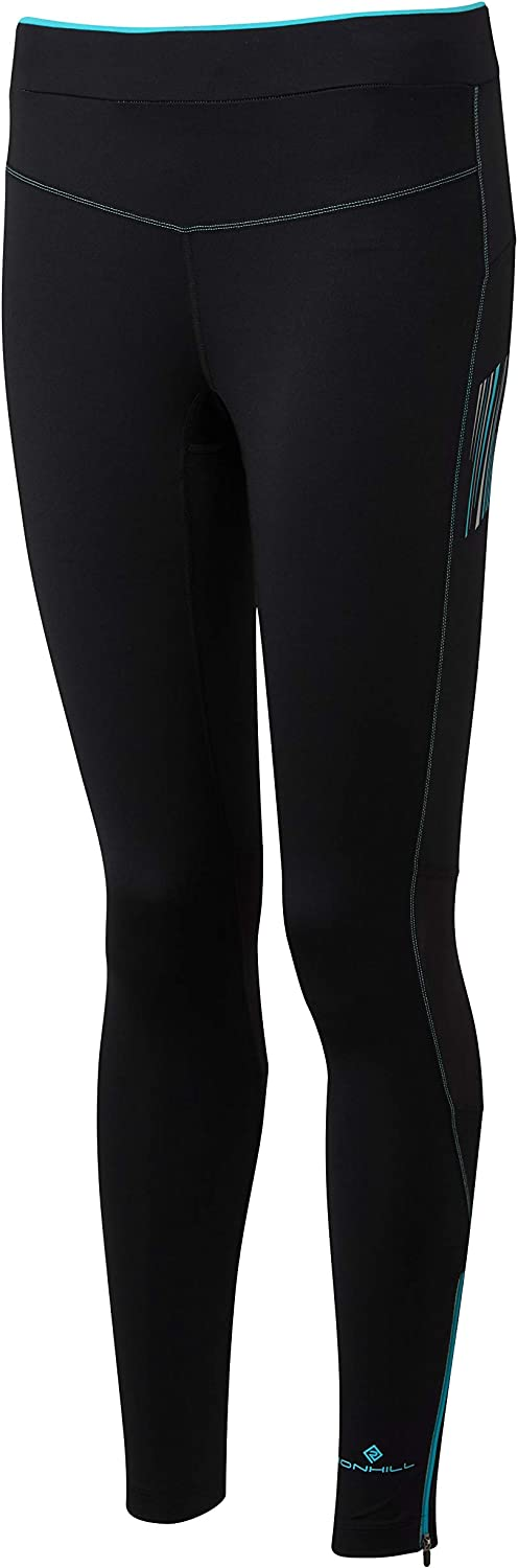 RonHill Womens Stride Stretch Tights Bottoms Pants Trousers Black Sports