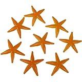 Tinksky Plastic Starfish Toy Starfish Models Set 8pcs For Children Kids