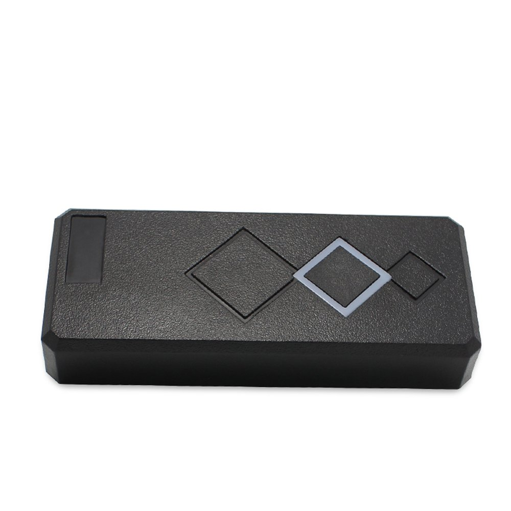 Slim Mini Size Waterproof Wiegand 26/34 125KHz EM RFID Reader For Door Access Control Proximity RFID Reader Black Color by RFID-SECURITY