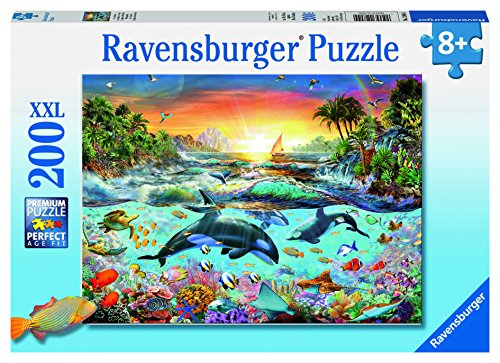 Ravensburger Orca Paradise Jigsaw Puzzle (200 Piece)