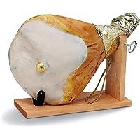 Fiorucci – Prosciutto Crudo intero con osso, in confezione regalo con morsa e coltello