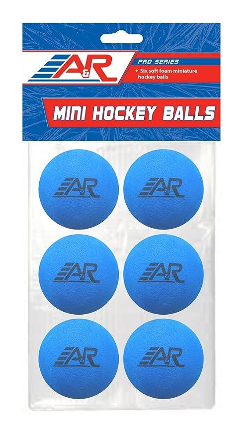 Pack of 6 IMGBALL-6 A/&R Sports Mini Foam Balls