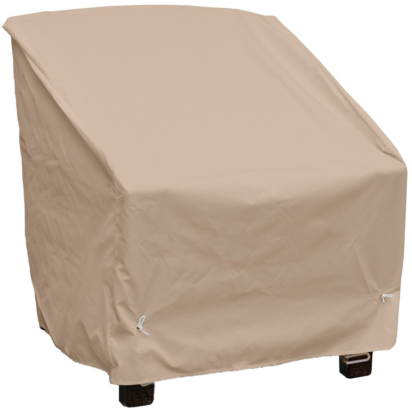 KoverRoos Weathermax 46250 Deep Seating High Back Chair Cover, 34-Inch Width by 35-Inch Diameter by 37-Inch Height, Toast