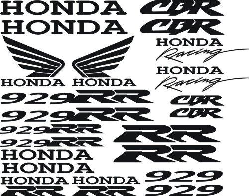 Honda CBR 929RR Full Decal Set 22 (Cbr Decal)