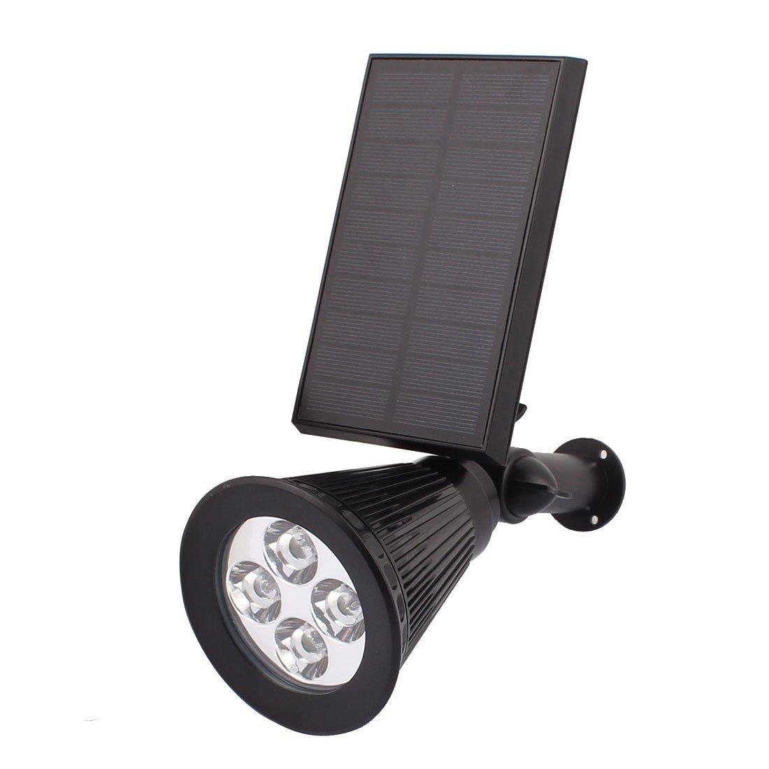 Paisaje eDealMax del Punto de luz Solar al aire Libre migas DE 4 LED jardín al aire Libre del Sensor de la lámpara: Amazon.com: Industrial & Scientific