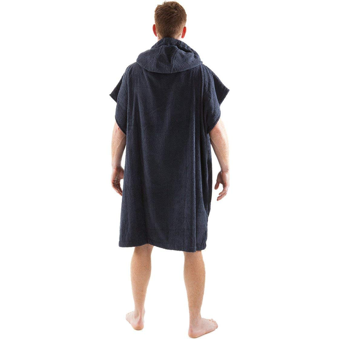 Amazon.com   Dryrobe Kids Beach Towel Changing Robe - Short Sleeve Towelling  Change Poncho Dry Robe One Size (Black)   Sports   Outdoors bcb191891