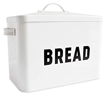 Claimed Corner Metal Bread Box