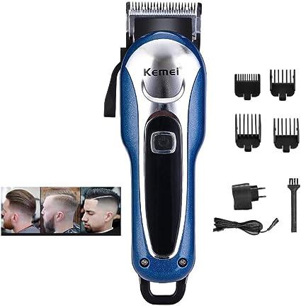 Poderoso Cortapelos LED Profesional Barbero Cortador de pelo para ...