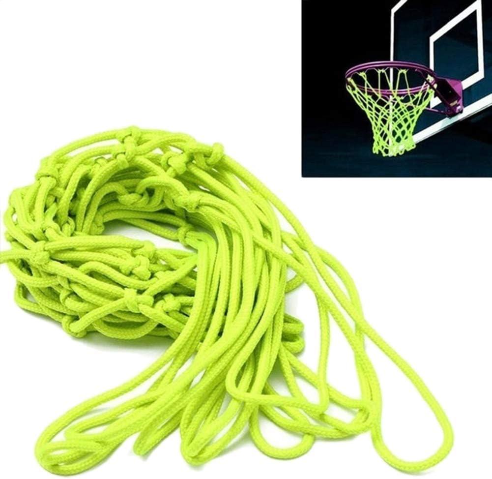 Color Verde Red de Nailon para Canasta de Baloncesto Surenhap