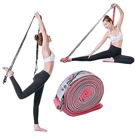 OhLt-j Correa de Yoga Ajustable de algodón 2.5 M 8.2 pies ...