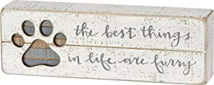 Primitives by Kathy Hand-Lettered Slat Box Sign, Best Things in Life
