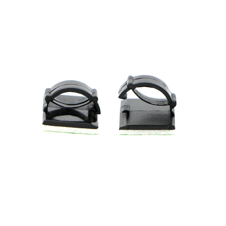 Pasow Kfz-Kabelbinder, Clips, selbstklebend: Amazon.de: Elektronik