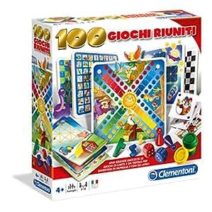 Clementoni 12952 - Set de 100 juegos reunidos (versión en italiano)