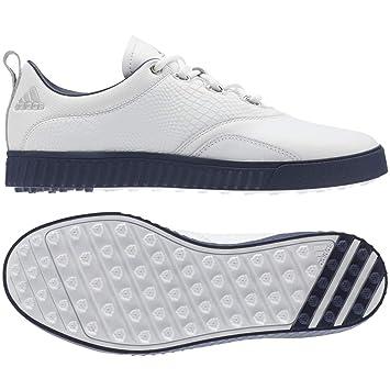 adidas Adicross PPF Chaussures de Golf pour Femme BlancBleu