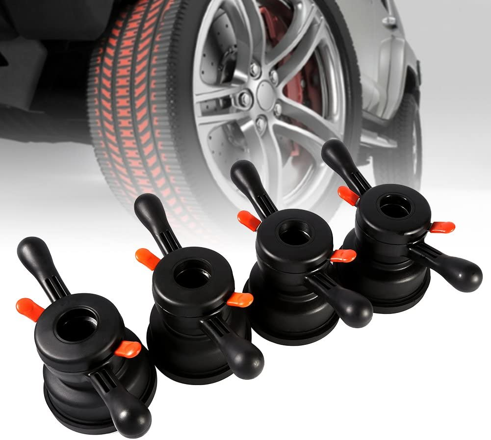 Wheel Balancer Parts Tire Change Tool 36/38/40mm 3/4mm Nut Wheel Balancer Quick Release Wing Nut & Pressure Cup Hub Tire Balancer Wing Nut(Thread Diameter 40mm, Pitch 3mm): Automotive