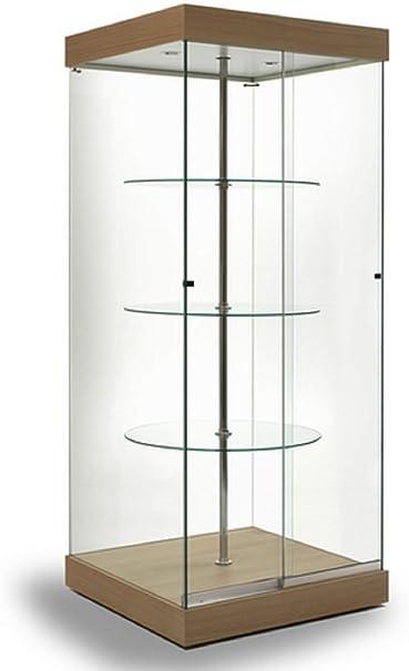 Vitrina en Cristal G-Q, coleccionismo, gabinetes, Vitrina ...