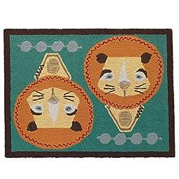 Lolli Living Zig Zag Zoo Rug, Lion