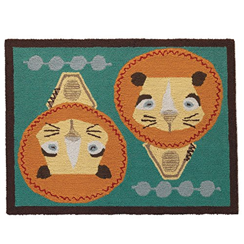 Lolli-Living-Zig-Zag-Zoo-Rug-Lion