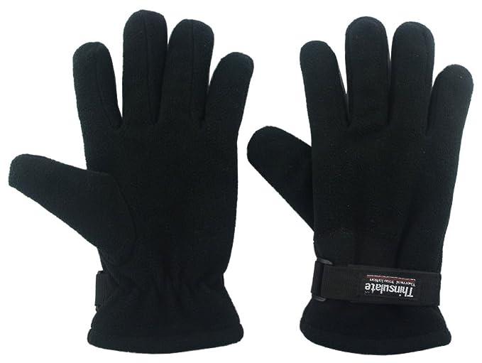 e9ca505f9cf Amazon.com: Outray Men's Thinsulate Fleece Keep Warm Gloves 4423C1 ...