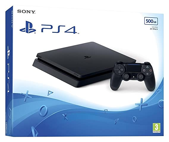 PS4 Slim 500 Go + Qui es-tu ? (Digital) [Importación ...