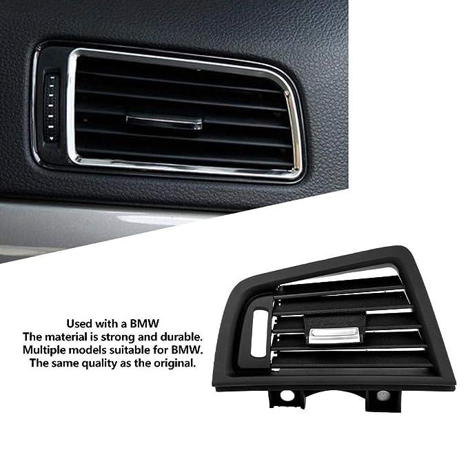 Duokon Cubierta de rejilla de ventilaci/ón de salida de aire fresco en el interior del salpicadero izquierdo del autom/óvil superior interior para F10 F18